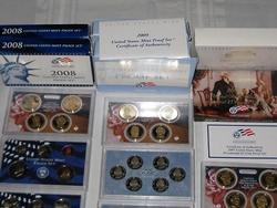 Five Proof Sets - 2007, 2008, 2009