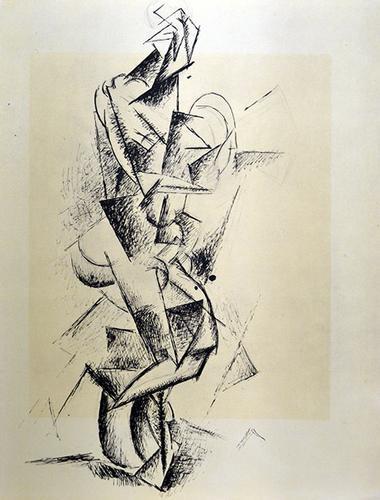 Rare Pablo Picasso Pochoir Circa 1962