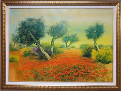 Italian Master Mario Soave Original Oil