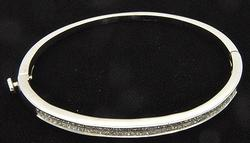 2ctw Princess Cut Diamond Bracelet in 14kt Gold