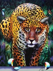Exceptional and Rare  Original Fergo Painting