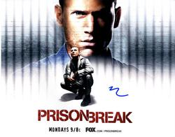 Dominic Purcell Prison Break Autographed Signed 11x14 P
