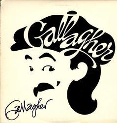 Gallagher Comedian Autographed Album Cover UACC RD COA