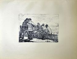 Rare Antique Lithograph by Boudin Circa 1897