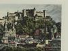 Rare Etching, Simply Exquisite View of Salzburg, Austria, Signed