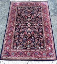 Simply Lovely & Lustrous Super Fine Persian Bidgol-Kashan Rug