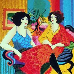 Colorful Patricia Govezensky Models Talking