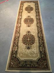 Classic French Chatue Design Area Rug 8ft Runner