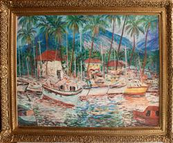 Original Signed Oil by Manor Shadian