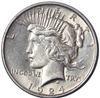 1922- 1924 Frosty White BU Peace Dollars