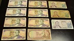 Very Collectible Group of Colombian Pesos
