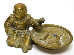 Rare Vintage Brass Buddism Figurine