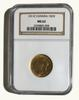 1911 Canada Gold Sovereign in an MS 62 NGC