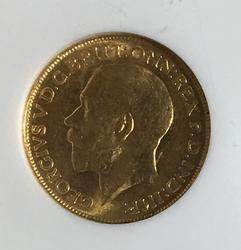 1911 Canada Gold Sovereign in an MS 62 NGC Holder