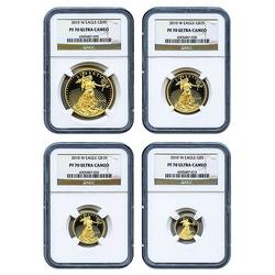 2010-W PF70 Gold Eagle Set, NGC