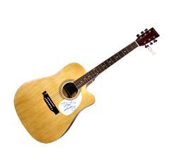 Saturday Night Live Horatio Sanz Signed Nat Acoustic Guitar
