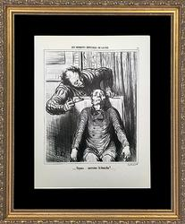 Collectible Daumier 'Doctors & Medicine' Circa 1970