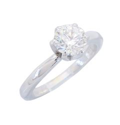 EGL Certified Solitaire Diamond Ring