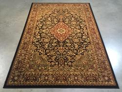 Magnificent Classic Crown Medallion Design Rug 7x10