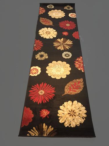Unique And Colorful Modern Floral 8 Ft Runner