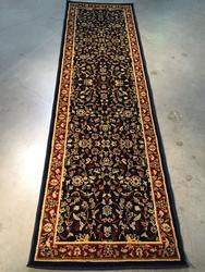 Floral Detailed Classic Allover  Design 8 Ft Runner