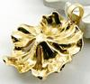 Artistic floral pendant