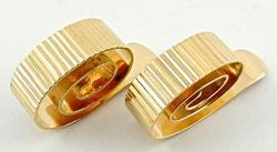 Unique Design 14kt Gold Cufflinks