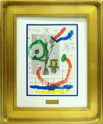 BEAUTIFUL LIMITED EDITION LITHOGRAPH BY MIRO