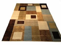 Decorative Contemporary Design Carved Area Rug 8x11