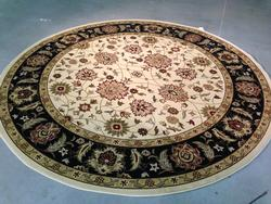 6' Round Decorative Classic Design Area Rug