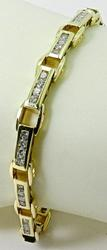 Diamond Bracelet with 1.5ctw of Diamonds in 14kt Gold