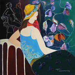 Outstanding Itzchak Tarkay Original Painting