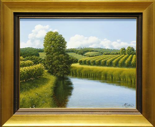 Marco Di Nieri Original Oil on Board