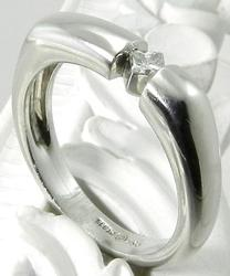 Beautifully Styled Platinum & Diamond Ring