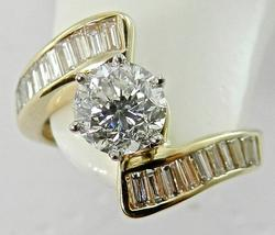 Gorgeous 1 ct. certified diamond ring