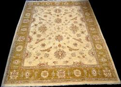 Nicely Contrasted Sultanabad Design Rug 8x10.5