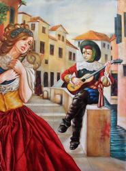 Edgar Barios Original Oil on Canvas