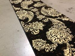Exquisite Modern Asian Paisley Style 8ft Runner