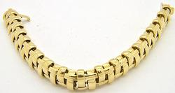Tiffany & Co 18kt Gold Diamond Bracelet