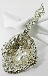 Ornate Sterling Silver Spoon
