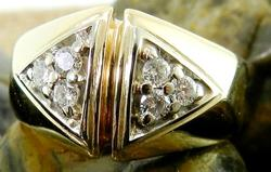 Men's Diamond Cluster