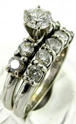 Certified Diamond Ring Set