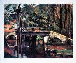 Cezanne The Bridge At Mainey