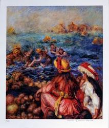 Pierre-auguste Renoir By The Seashore