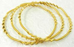 22kt Yellow Gold Set of Bangles