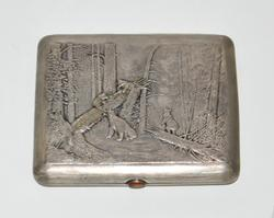 Russian Silver Cigarette Holder Bearcubs