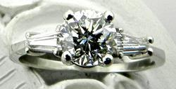 Classic .8 Carat Engagement Ring