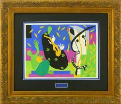 BRILLIANT LIMITED EDITION LITHOGRAPH BY MATISSE