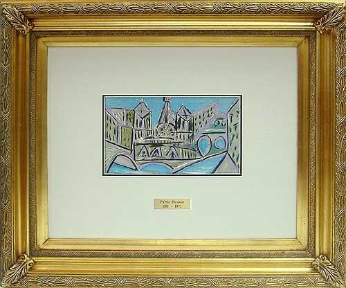 SUPERB PICASSO LITHOGRAPH LIMITED EDITION