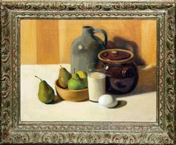 ORIGINAL ACRYLIC ON CANVAS STILL LIFE BY EJK